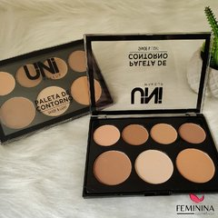Paleta de Contorno - Shade & Light - Uni Makeup