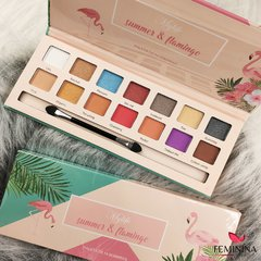 Paleta Summer & Flamingo 14 Sombras Mylife