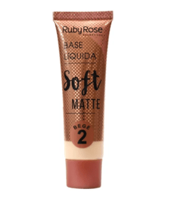 Base Líquida Soft Matte Bege 2 - Ruby Rose