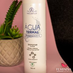 Água Termal Remineralizante 190ml Phallebeauty