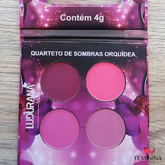 Quarteto de Sombras  4 cores Ludurama Fundo do Mar