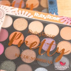 Paleta de Sombras 22 cores Pretty - Ruby Rose