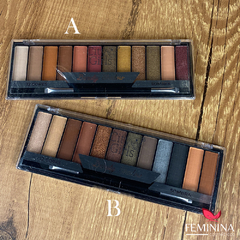 Paleta de Sombras 12 Cores Beauty Shadow City Girls