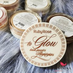 Iluminador To Glow Loose Powder - Ruby Rose