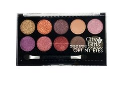 Paleta de Sombras Oh My Eyes City Girls CG074