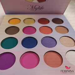 Paleta de Sombras Art Graffiti 16 Cores - Mylife