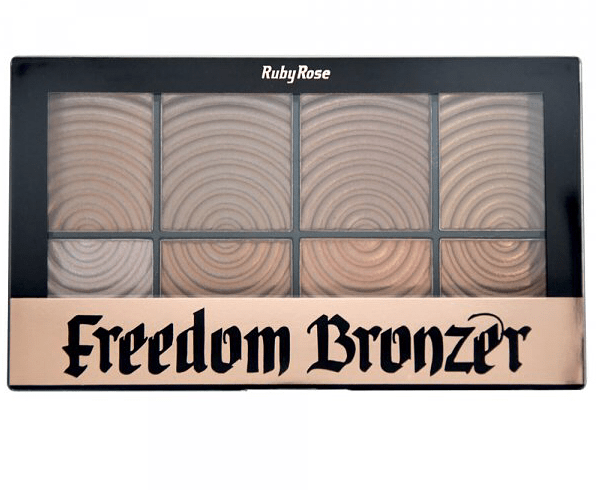 Paleta Bronzer Freedom Ruby Rose - HB7216