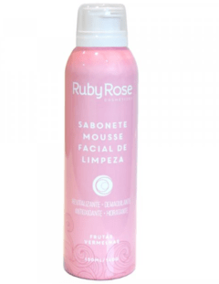Sabonete Mousse Facial de Limpeza Ruby Rose
