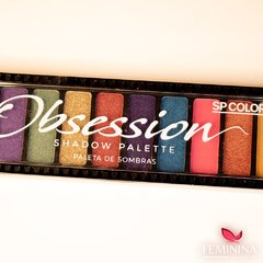 Paleta de Sombras Obesession SP Colors