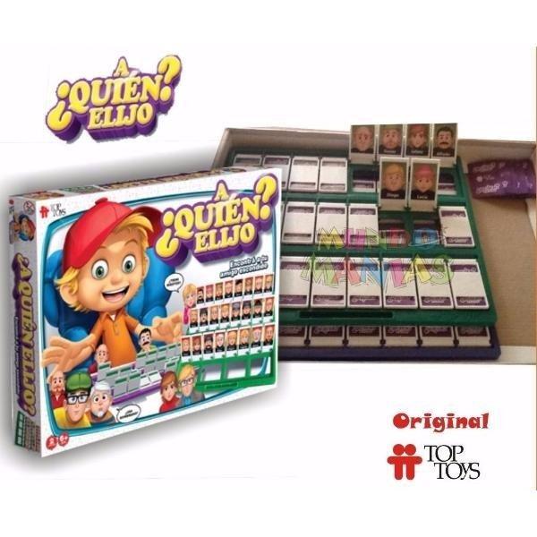 Juego De Mesa A Quien Elijo Original Top Toys