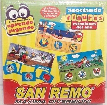 Juego Asociando Figuras  San Remo    Juguetes en la Web