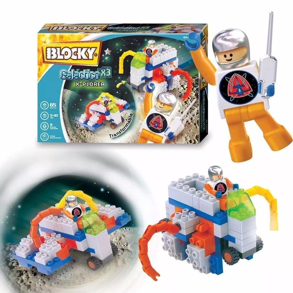 Blocky Galáctico X 6  65 piezas - Juguetes en la web