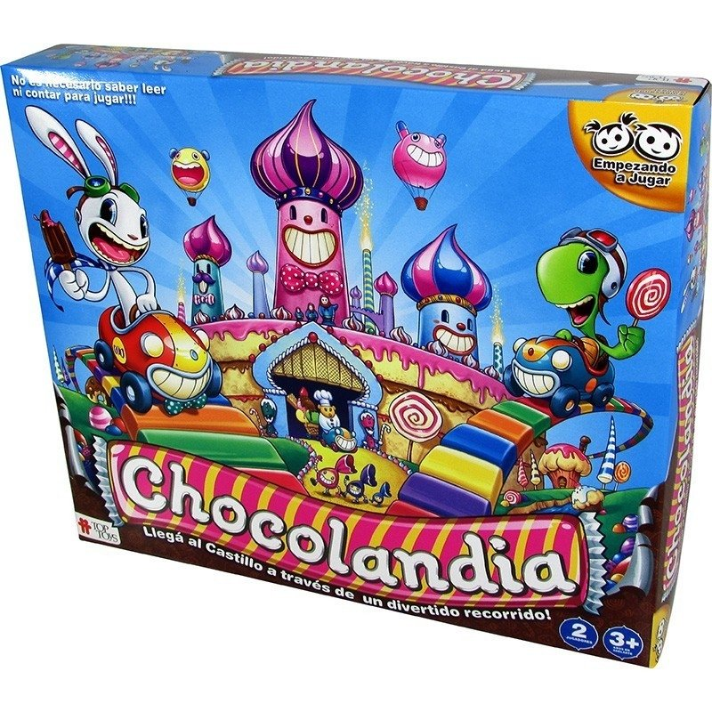 Chocolandia Top Toys juego de mesa