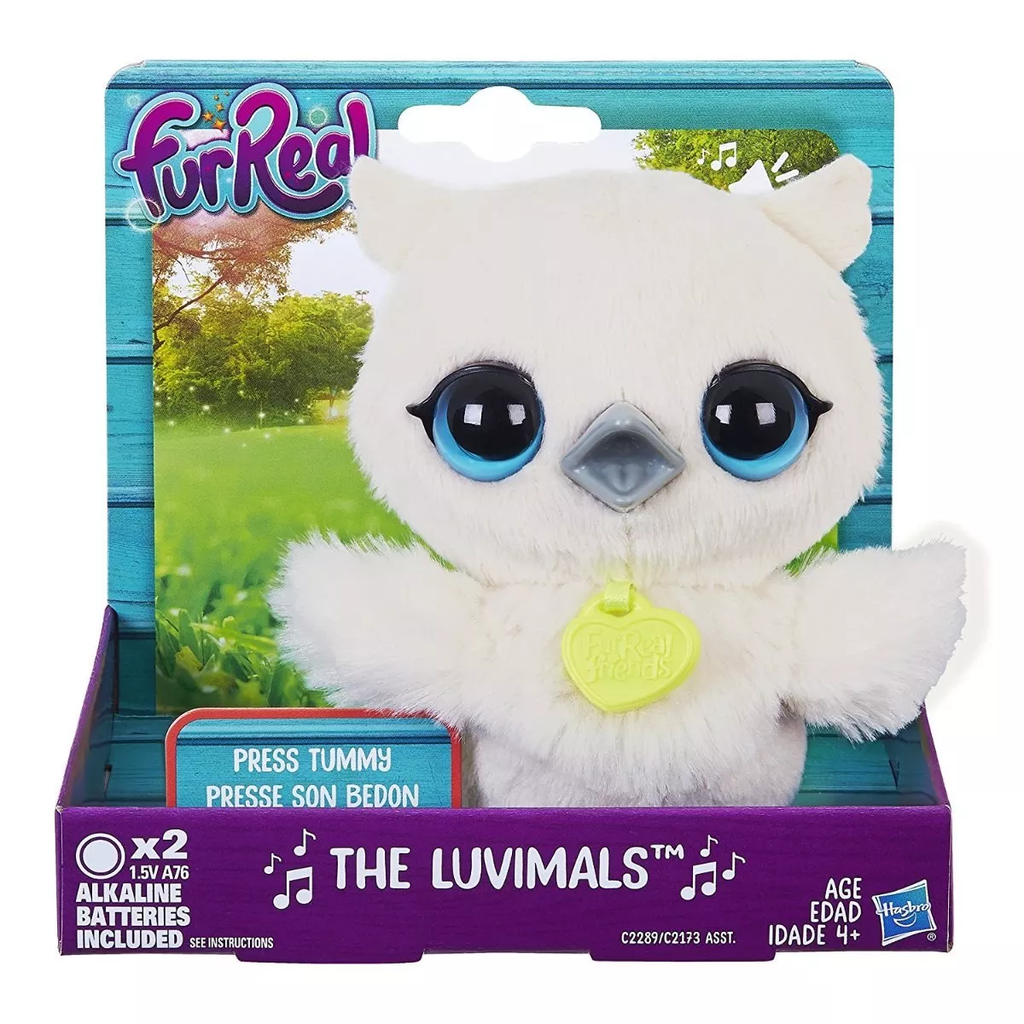 Fur Real Mascota The Luvimals Canta Buho Peluche Hasbro