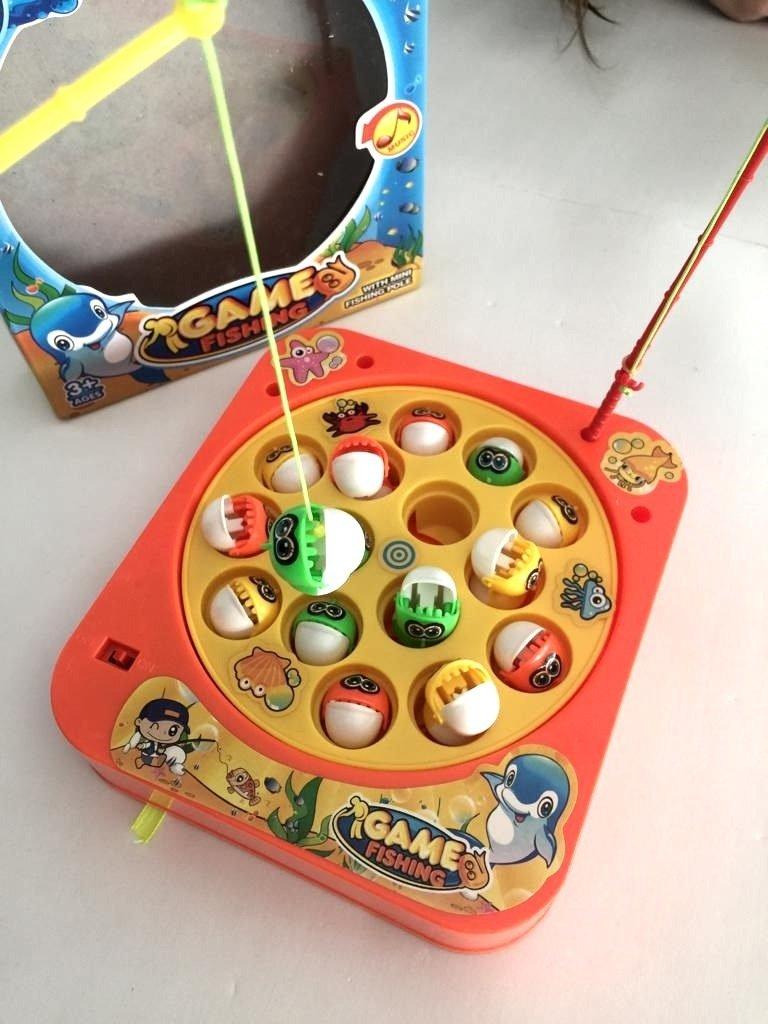 Pesca Magic con musica