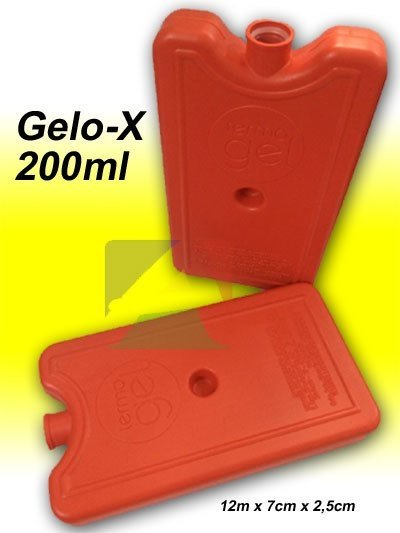 GeloX Rigido 200ml Mini 12cm x 7cm x 2,5cm