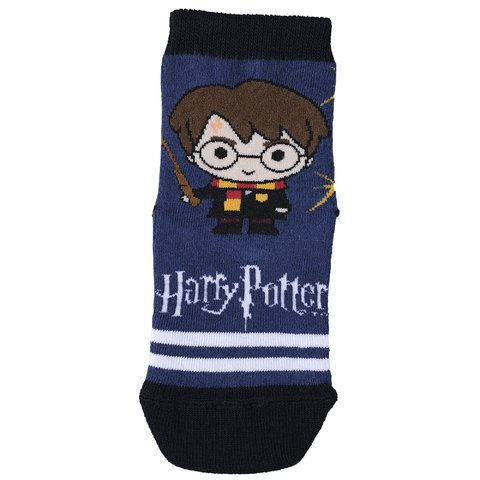 Meia infantil harry potter rony hermione lupo