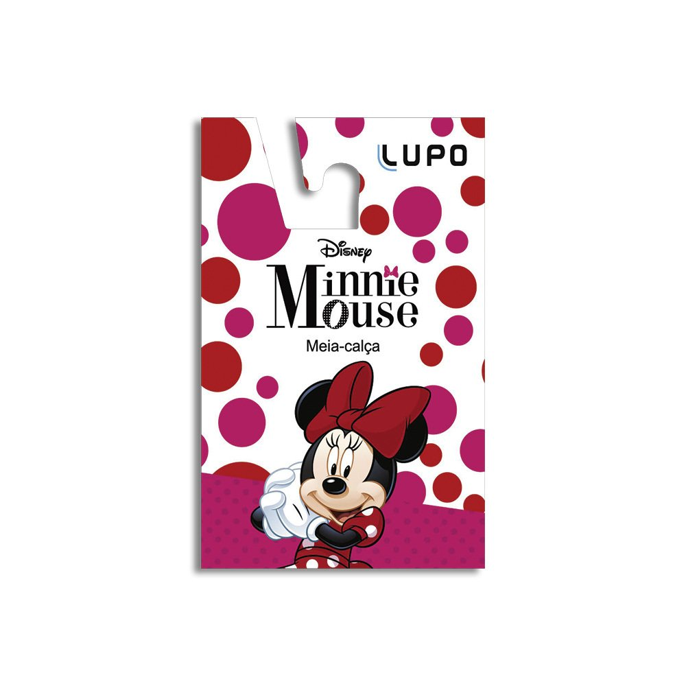 63c27876a Meia calca legging bebe minnie lupo - Rose Lingerie