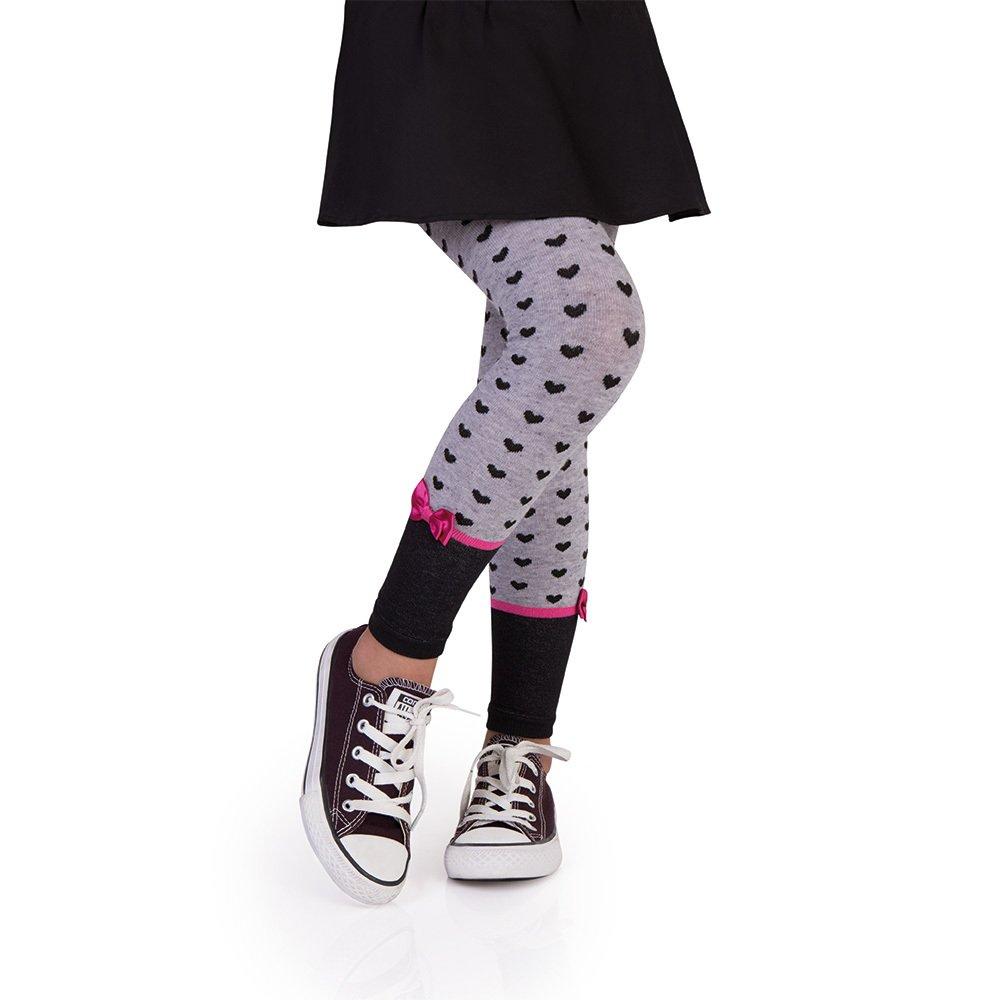 f99eea3ed Meia calça legging infantil coração lobinha lupo