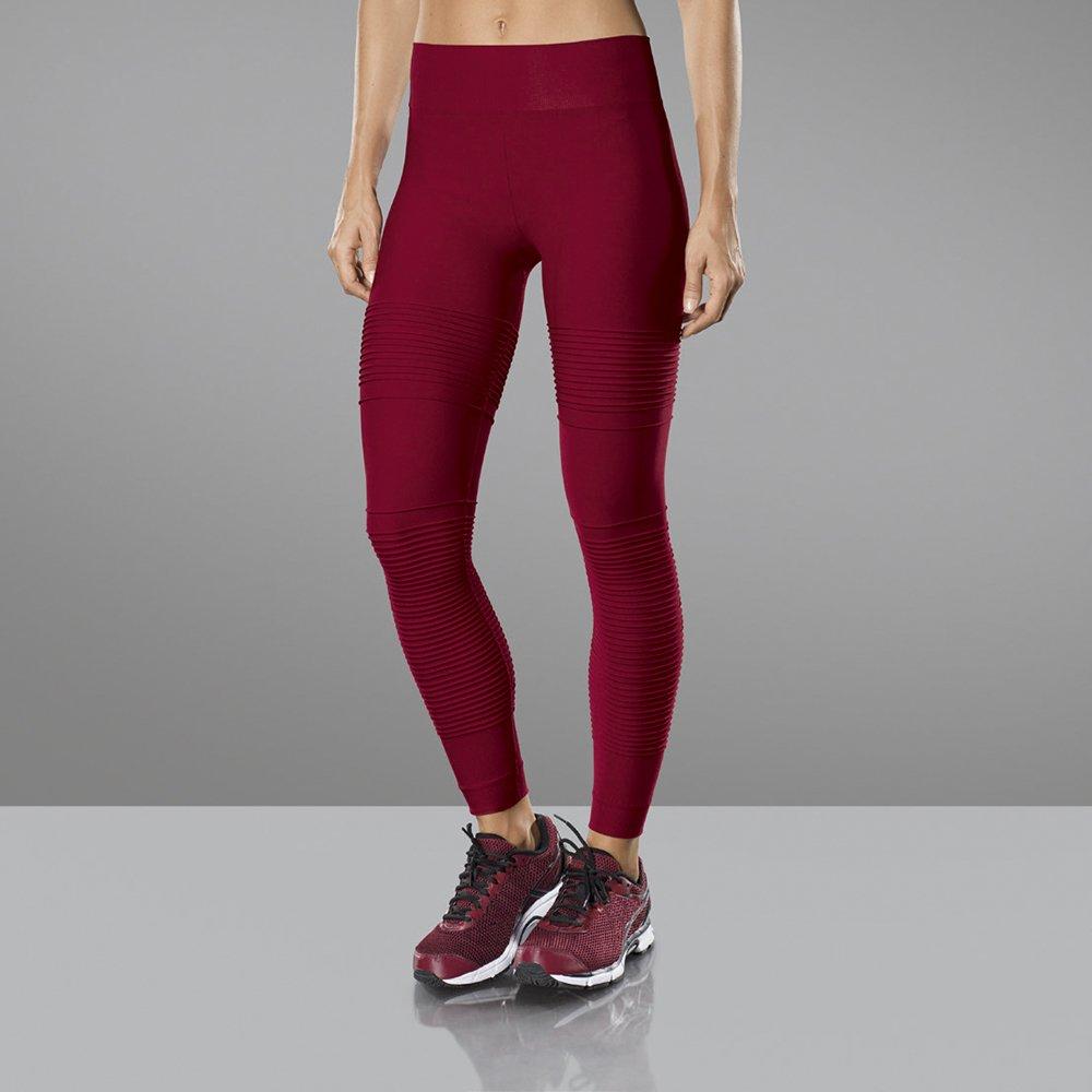 9c99c46eb Calca legging fitness academia detalhe nervuras lupo