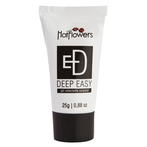 Gel preto deep easy dessensibilizante anal hot flowers