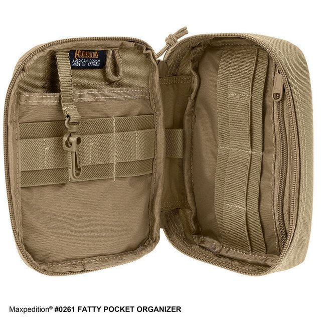 Maxpedition Fatty Pocket Organizer - AventureiroStore