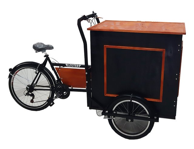 Food Bike Caja Alta