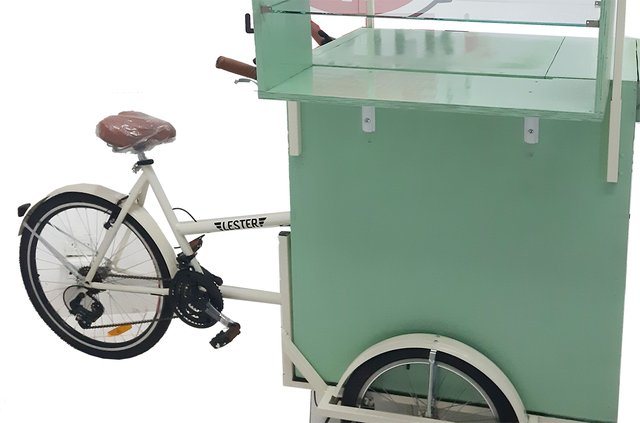Food Bike Con Toldo y Estantes - comprar online