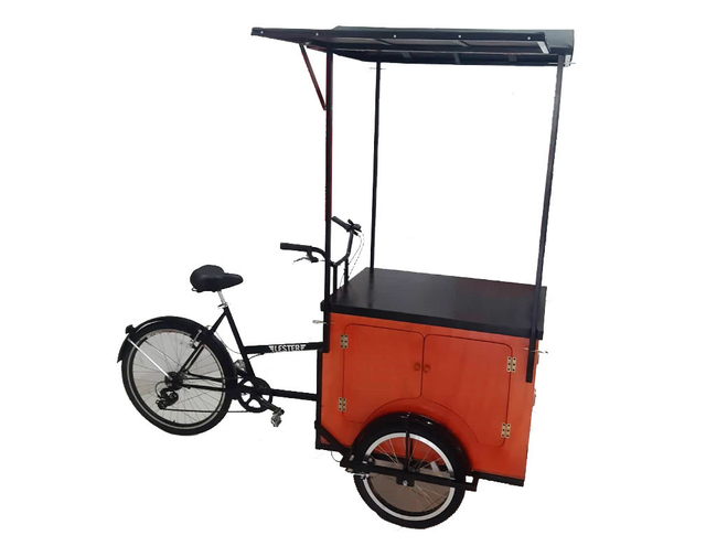 Food Bike Con Toldo Extensible