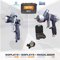 Kit 3 - WTP Tools - Clear + Mini Pro + Reguladores