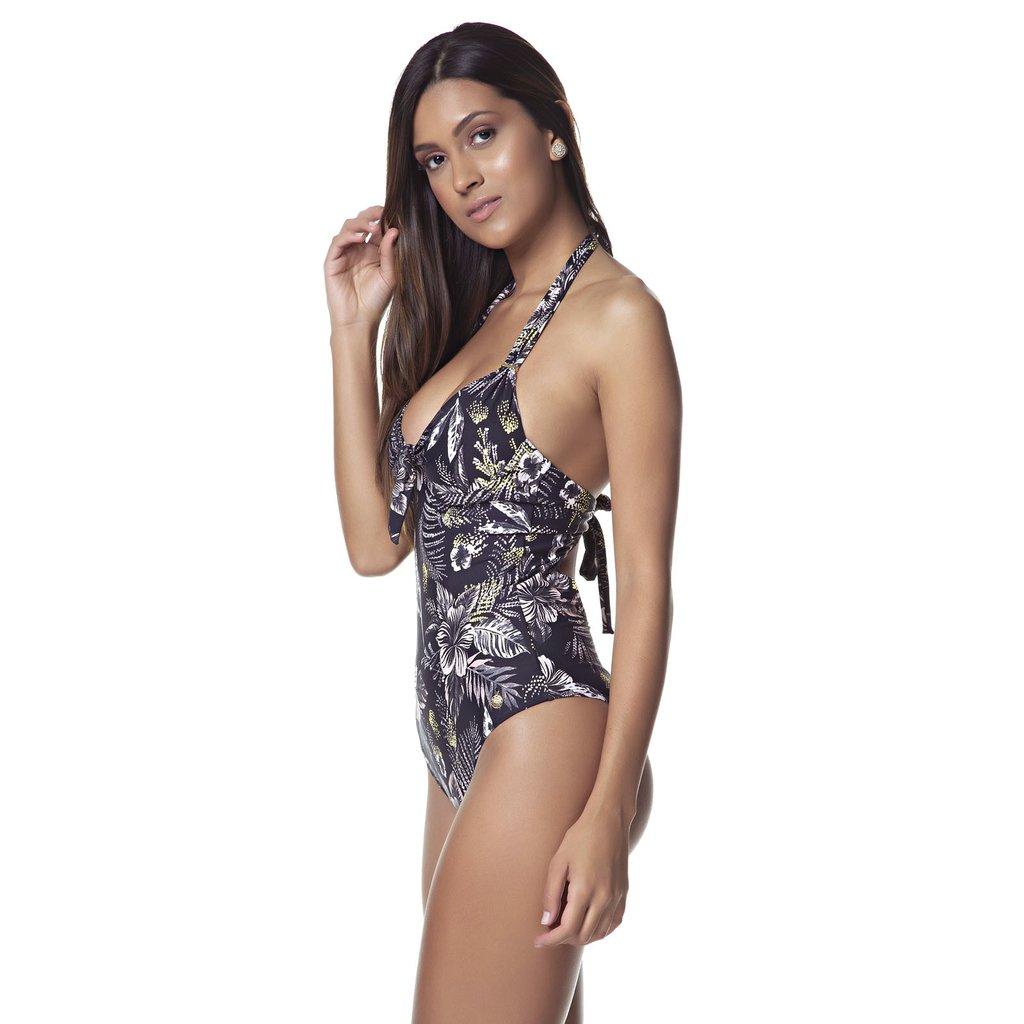 1ce7e6584192 Body/maiô laço floral Nude - Comprar em TRITUÊ