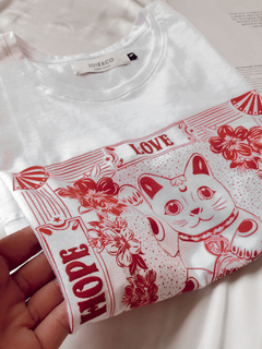 Remera Lucky Cat - comprar online