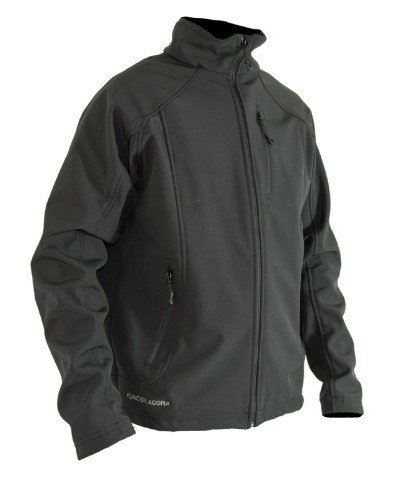 Campera Softshell Funcion Agora Hombre Impermeable