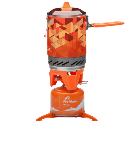 Calentador Fire Maple Anafe Camping Simil Jetboil 1l Propano/Butano
