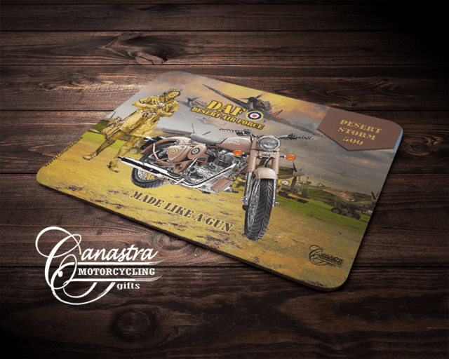 Mouse Pad Motociclismo Royal Enfield Desert Air Force