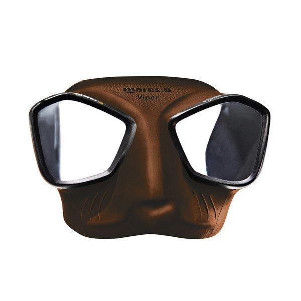 f9cc2ac0b Máscara Pesca Submarina Mares Viper - Marrom