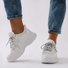 Chunky Sneakers White - comprar online