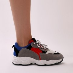 Chunky Sneakers Red/Blue - comprar online
