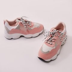 Chunky Sneakers Salmon - comprar online