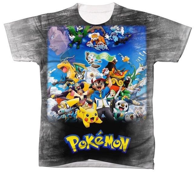 729308d01a Camiseta Pokémon REF 005 - Comprar em BitCamisetas