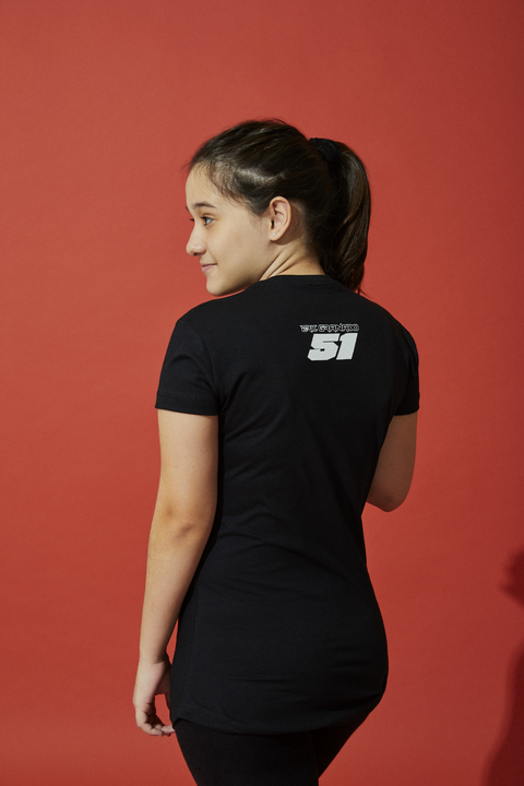 T-Shirt Black Fifty One Fem na internet