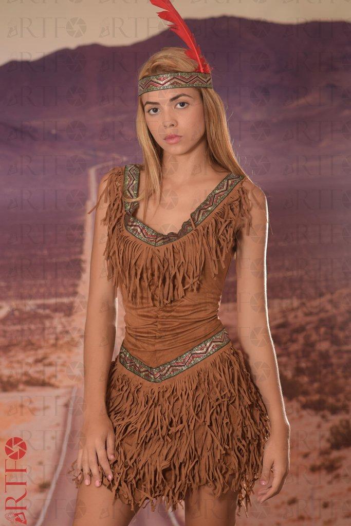 Disfraz India Americana Comprar En Wowcolombia Moda - Disfraz-india-americana