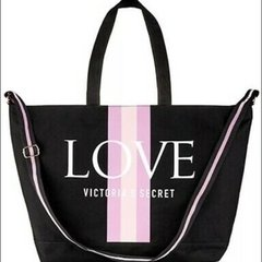 Victoria's Secret love weekender tote