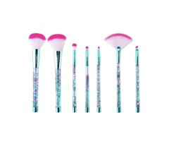 Beauty creations unicorn dream teal brush set