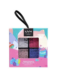 NYX Strawberry whip spinkle cream glitter palette