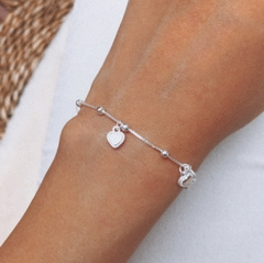 PULSERA AFRODITA (PLATA 925+REGULABLE)