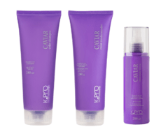 Kit Caviar Color- Shampoo, condicionador e Leave-in