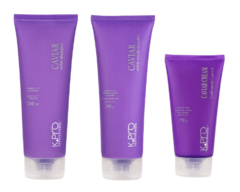 Kit Caviar Color - Shampoo, Condicionador e Caviar Cream Condicionador Leave-in
