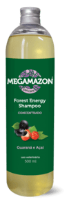 FOREST ENERGY SHAMPOO – GUARANÁ E AÇAÍ - 500ml