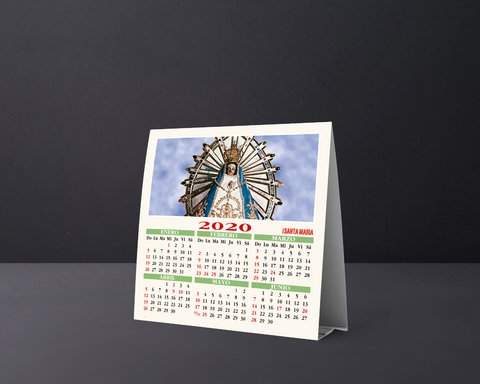Calendario Carpita 2020 - Editorial Santa María